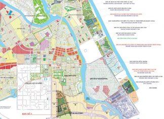 Sơ đồ quy hoạch dự án Đô thị Đại học Đà Nẵng và các dự án lân cận